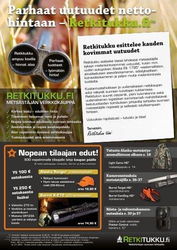 hintaan - Retkitukku.fi