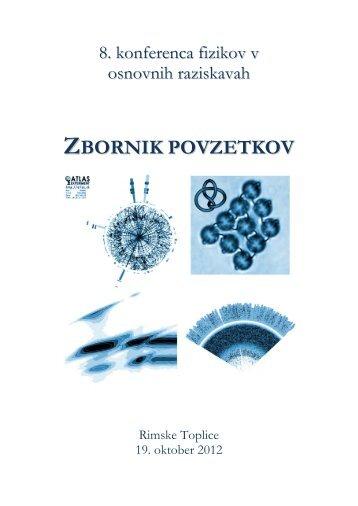 ZBORNIK POVZETKOV - Soft Matter Laboratory