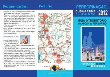 PEREGRINAÇÃO - Câmara Municipal de Cuba