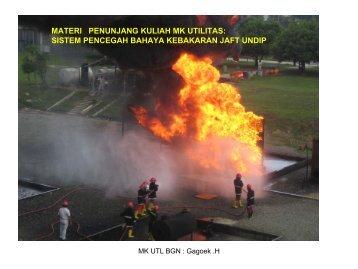 UTILITAS pemadam kebakaran GGK JAFT