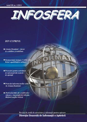 infosfera - Ministerul Apărării Naţionale