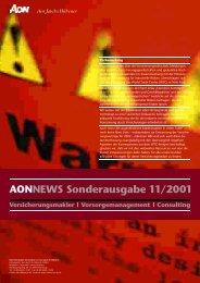 AONNEWS Sonderausgabe 11/2001 - Advocat24