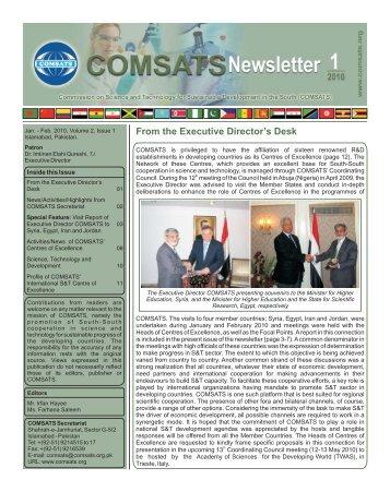 Vol.2, Issue 1 (Jan-Feb 2010) - COMSATs