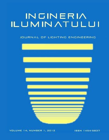 LIGHTING ENGINEERING CENTER – LEC - Journal of Lighting ...