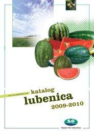 katalog 2009-2010 - S and G Vegetables