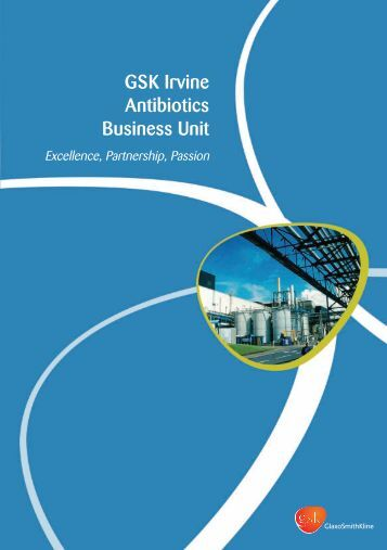 GSK Irvine Antibiotics Business Unit