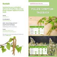 Allergietagebuch - Helmholtz Zentrum München