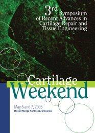 Symposium of Recent Advances in Cartilage Repair ... - Kongres doo