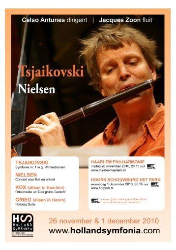 Programma Nielsen & Tsjaikovski - Holland Symfonia