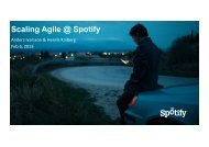 Scaling Agile @ Spotify - Jfokus