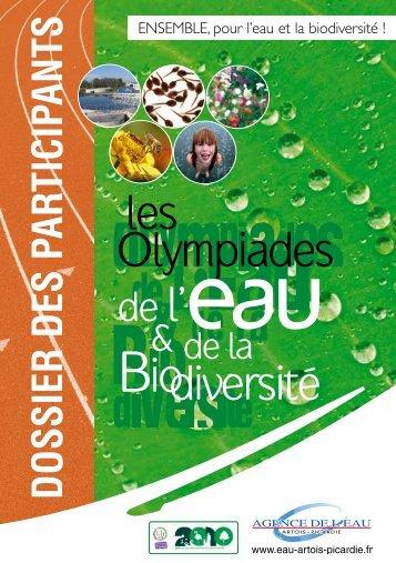 Dossier du participant - Agence de l'eau Artois Picardie