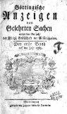 Göttingische gelehrte Anzeigen - Seite 3