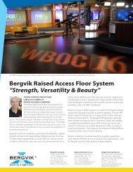 "Bergvik Raised Access Floor System ""Strength ... - Bergvik Flooring"