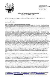 120301 Referat af generalforsamling 27. februar ... - Kolding Rideklub