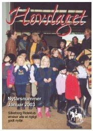 Januar 2003 - Silkeborg Rideklub