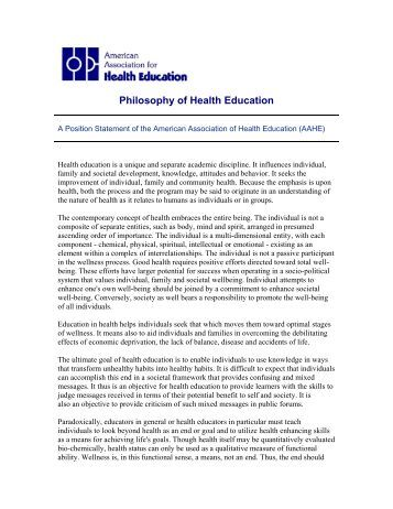 philosophy of health Population health has recently grown from a series of loosely connected critiques of twentieth-century public health and medicine into a theoretical framework with a corresponding field of research—population health science.