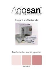 Energi- og proteintilskud - Adosan