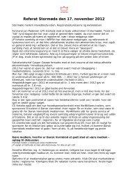 Referat Stormøde den 17. november 2012 - Dansk Varmblod