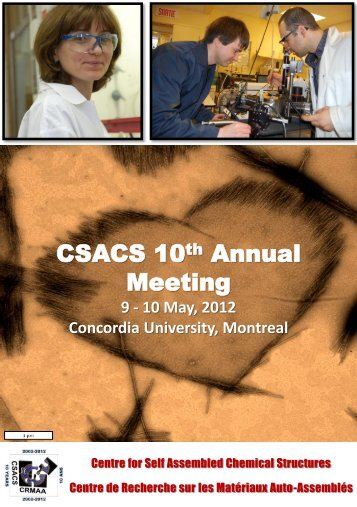 May 2012 - csacs - McGill University