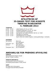 Katalog til afslutning 5. februar 2013