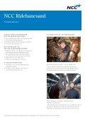 Produktblad ridebanesand - NCC - Page 2