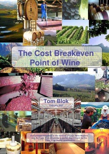 CWM Thesis - Final - Cape Wine Academy