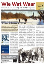 125 jaar Ankeveense IJsclub - De Brug