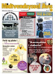 "Skærmydsler i støberiet"" - Midtvendsyssel Avis"