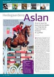 Hedegaardens Aslan 01/2010 - Dansk Varmblod