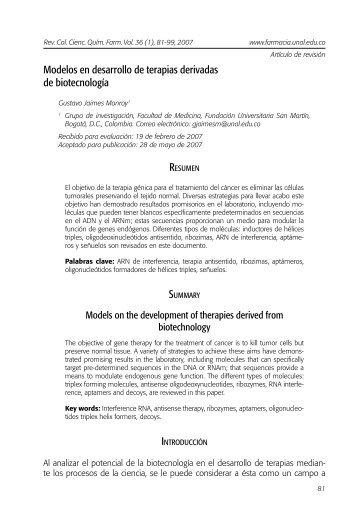 artículo - Fundación Universitaria San Martín