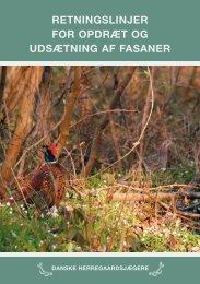 retningslinjer for opdræt og udsætning af fasaner