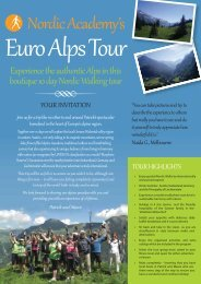 Euro Alps Tour 201 - Nordic Academy