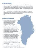 HVAD ER URAN? - Greenland Minerals and Energy - Page 2