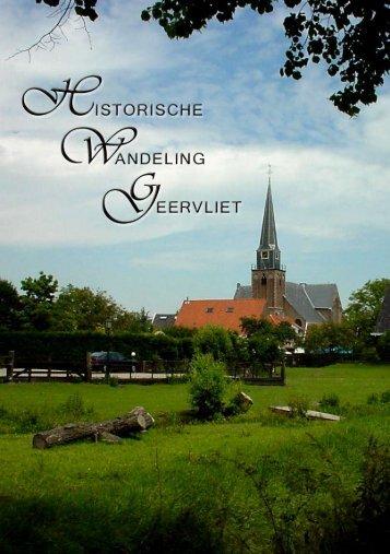 Historische Wandeling Geervliet - Gemeente Bernisse