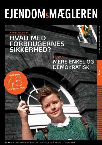 Udgave 3, maj måned 2011 - Dansk Ejendomsmæglerforening