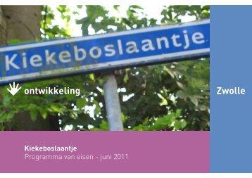 Kiekenboslaantje - BIS - Gemeente Zwolle