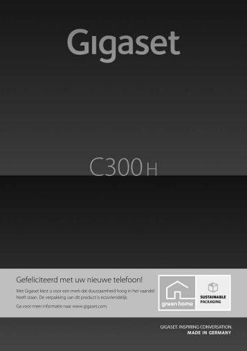 Gigaset C300H – uw hoogwaardige telefoon