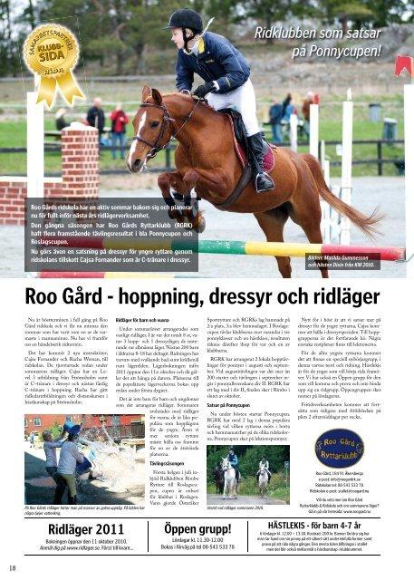 Tävla och vinn biljetter till Stockholm Horse Show! - Tidningen Rida