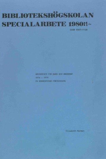 1980 nr 1.pdf - BADA - Högskolan i Borås
