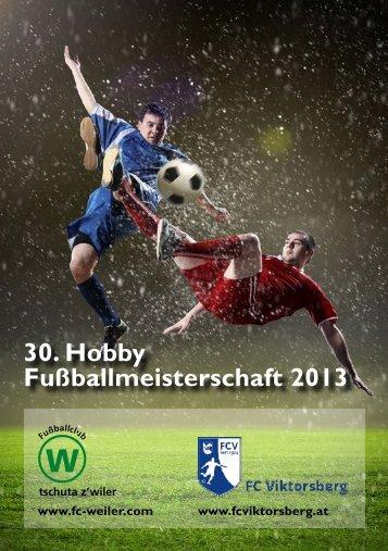 30. Hobby Fußballmeisterschaft 2013