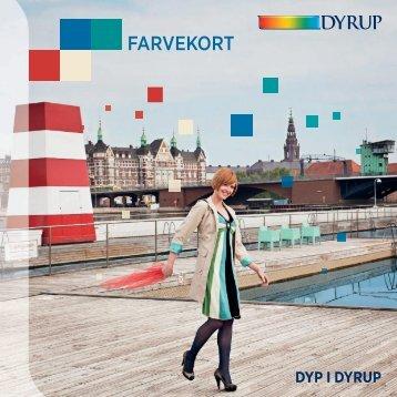 Dyrup farvekort - Malingudsalg.dk