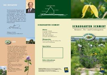 Schaugarten Schmidt, Karlstetten - Natur im Garten