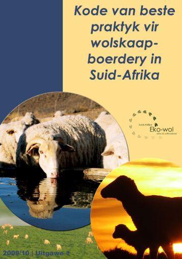 1 Beste praktyk handleiding vir Wolskaapboerdery in ... - Landbou.com