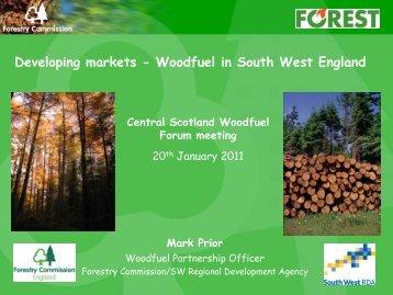 Developing Markets - Wood Energy Scotland