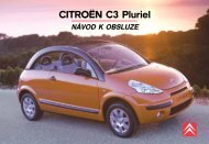 CITROËN C3 Pluriel - Citroen club