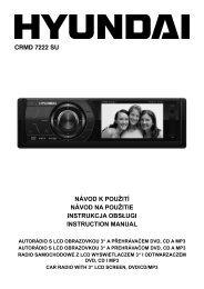 Návod k použití CZ (PDF, 6 424 kB) - Hyundai