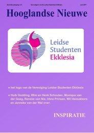 Hooglandse Nieuwe jun-2011 - Welkom bij de LSE
