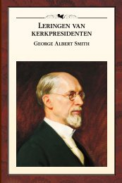 Leringen van kerkpresidenten: George Albert Smith - The Church of ...