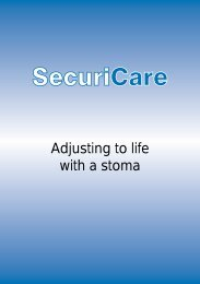 Adjusting to life with a stoma - SecuriCare