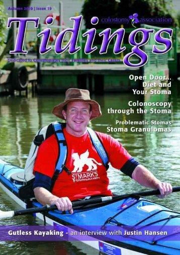 Autumn 2010 Issue 19 - Colostomy Association
